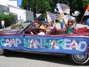 Camp Wannaread Float